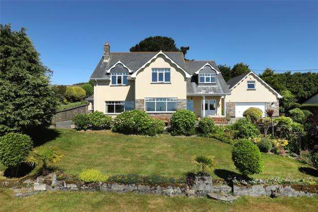 5 Bedrooms Detached House for sale in Sclerder Lane, Looe, Cornwall