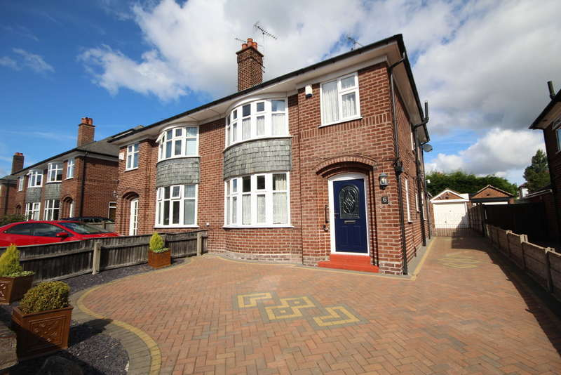 3 Bedrooms Semi Detached House for sale in Melrose Avenue, Vicars Cross