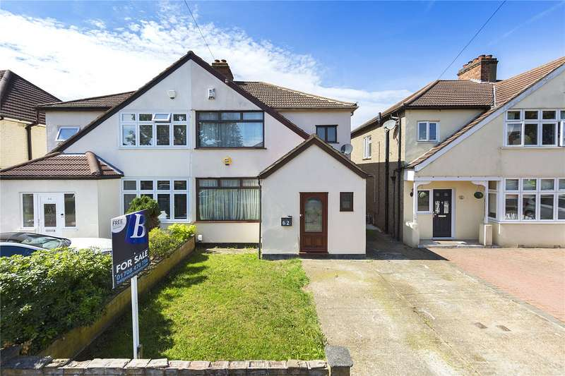 4 Bedrooms Semi Detached House for sale in Grenfell Avenue, Hornchurch, RM12