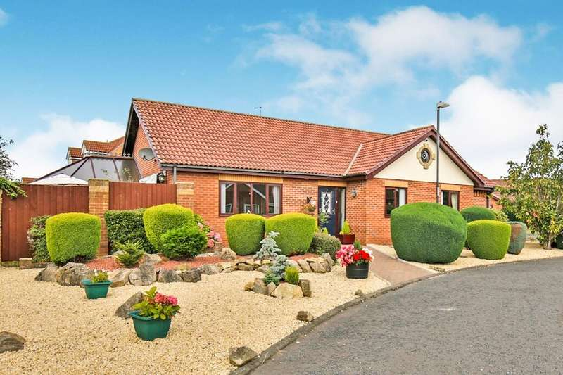 4 Bedrooms Detached Bungalow for sale in Paddock Close, Shiney Row, Houghton Le Spring, DH4