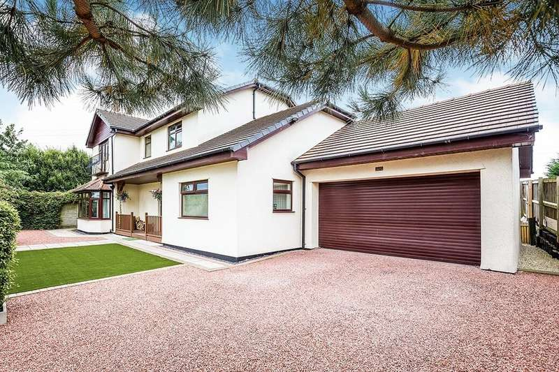 5 Bedrooms Detached House for sale in Hen Dee, Old Sealand Road, Sealand, Chester, CH1