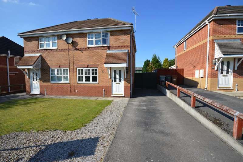 3 Bedrooms Semi Detached House for sale in Coleridge Close, Sandbach, Sandbach, CW11 3NN