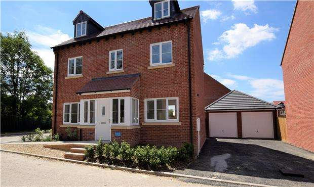 5 Bedrooms Detached House for sale in 11 New Dawn View, Off Stroud Road, GLOUCESTER, GL1 5LQ