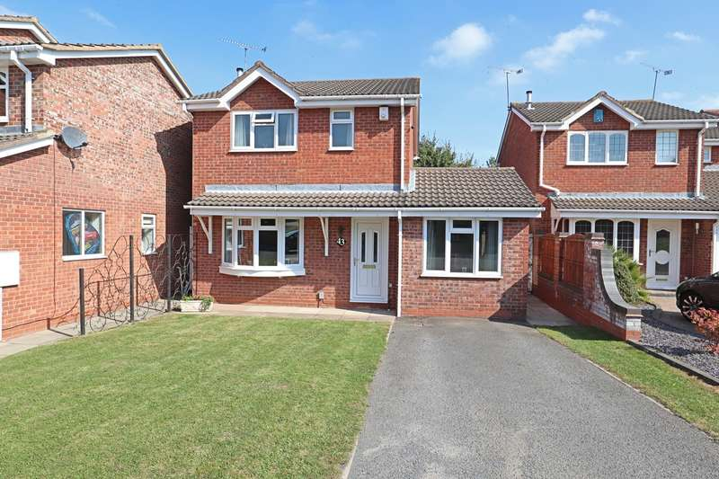3 Bedrooms Detached House for sale in Cambridge Drive, Stockingford, Nuneaton, CV10