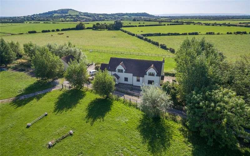 4 Bedrooms Detached House for sale in Delhorn Lane, Lympsham, Weston-super-Mare, Somerset, BS24