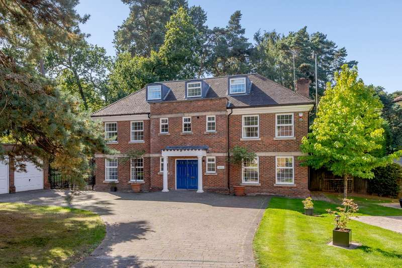 6 Bedrooms Detached House for sale in White Pillars, Holly Bank Road, Woking, GU22