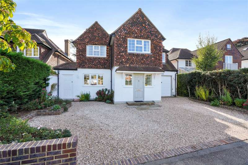 4 Bedrooms Detached House for sale in Arbrook Lane, Esher, Surrey, KT10