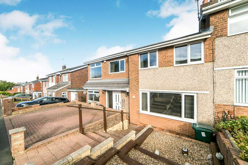 4 Bedrooms Semi Detached House for sale in Beweshill Crescent, Blaydon-On-Tyne, Tyne And Wear, NE21
