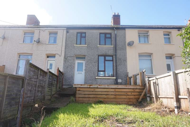 3 Bedrooms Terraced House for sale in Meadow Terrace, Phillipstown, New Tredegar, NP24