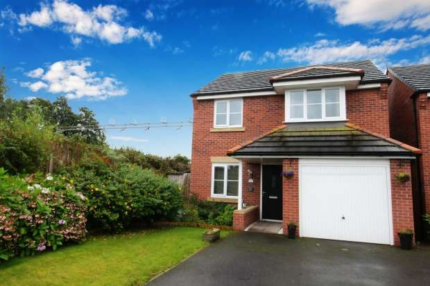 3 Bedrooms Detached House for sale in Mallard Place, Sandbach, Cheshire, CW11 3AW
