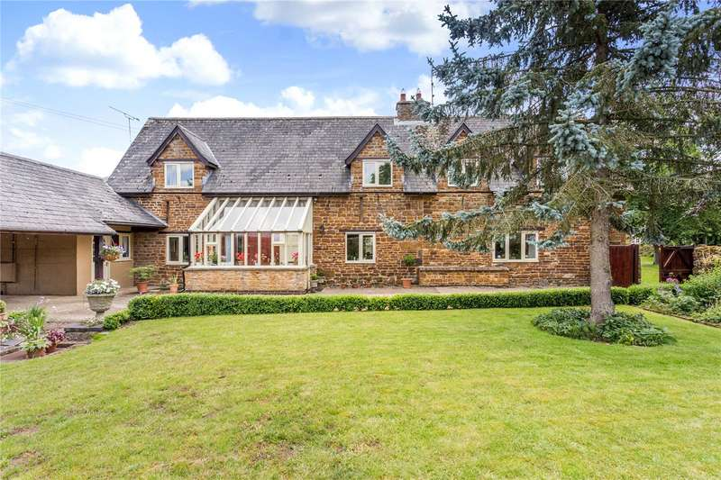4 Bedrooms Detached House for sale in Pool Street, Woodford Halse, Daventry, Northamptonshire, NN11