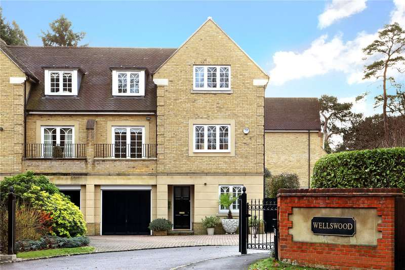 4 Bedrooms Semi Detached House for sale in Wellswood, London Road, Ascot, Berkshire, SL5