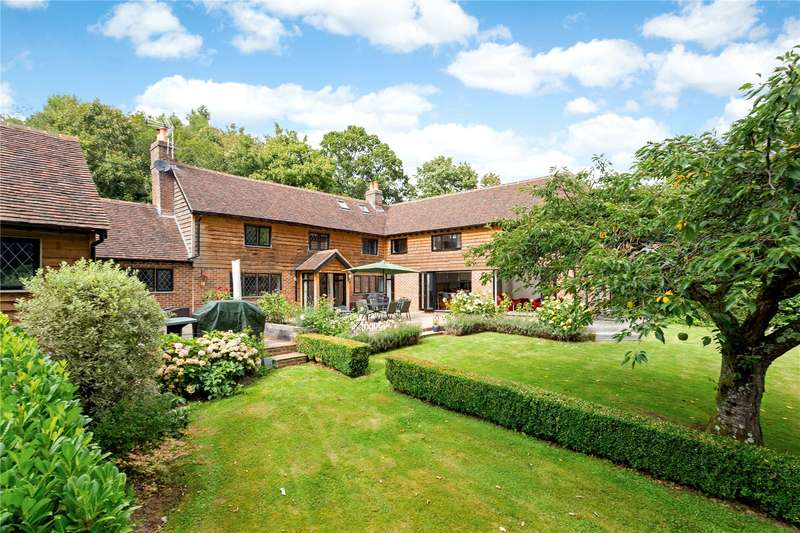 5 Bedrooms Detached House for sale in Lamberhurst Down, Lamberhurst, Tunbridge Wells, Kent, TN3