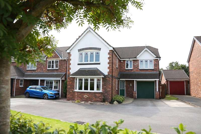 4 Bedrooms Detached House for sale in Butterwick Fields, Horwich, Bolton, Greater Manchester, BL6