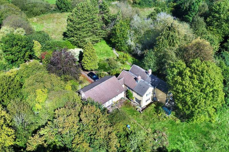 5 Bedrooms Detached House for sale in Wanstrow, between Frome and Bruton. Very rural location set in grounds and paddocks over 6 acres