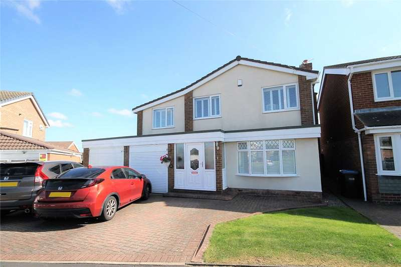 4 Bedrooms Detached House for sale in Elmway, Hilda Park, Chester le Street, DH2