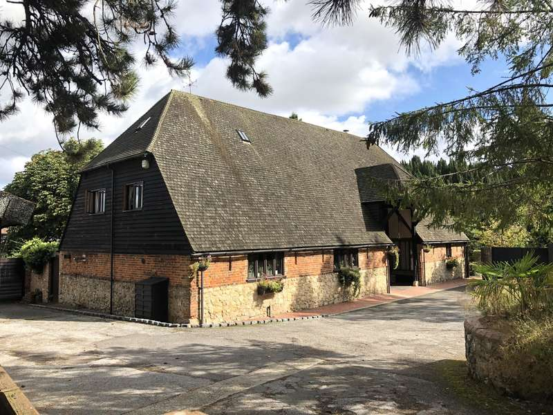 7 Bedrooms Barn Conversion Character Property for sale in Chart Court Barn, Little Chart, Ashford, TN27 0QH