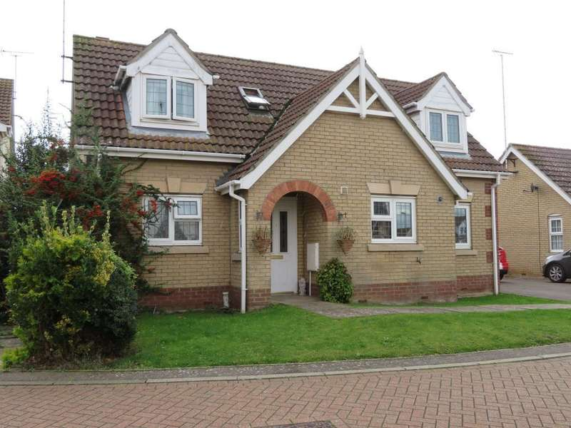 3 Bedrooms Detached House for sale in Crown Close, Leverington, Wisbech, Cambs, PE13 5PN