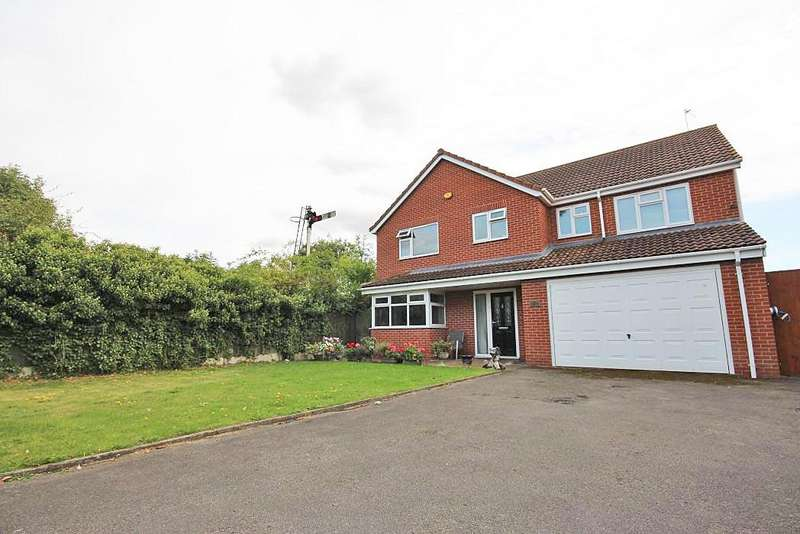 5 Bedrooms Detached House for sale in EVERGREEN CLOSE, GOXHILL