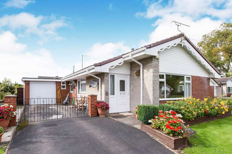 3 Bedrooms Detached Bungalow for sale in Ingleton Close, Holmes Chapel, Crewe, Cheshire, CW4