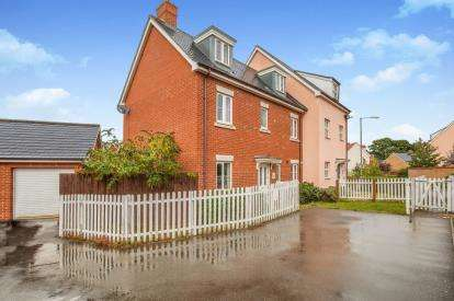 5 Bedrooms Semi Detached House for sale in Wymondham, Norwich, Norfolk