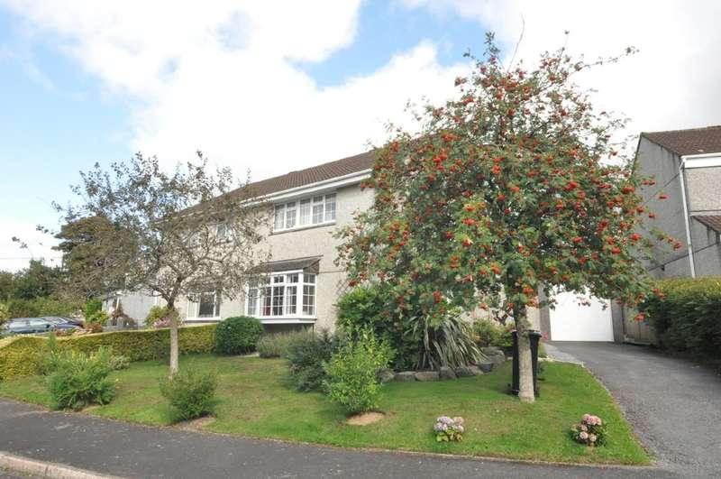 4 Bedrooms Semi Detached House for sale in Brakefield, South Brent, Devon