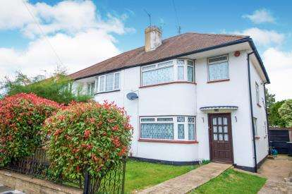 3 Bedrooms Semi Detached House for sale in Greencroft Gardens, Enfield, Hertfordshire
