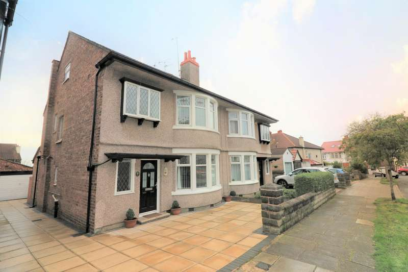 4 Bedrooms Semi Detached House for sale in Rose Mount Drive, Wallasey, CH45 5JA