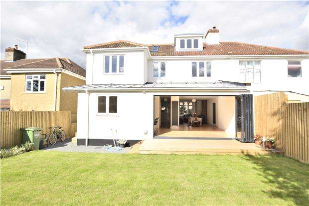5 Bedrooms Semi Detached House for sale in Highfield Avenue, Hanham, BS15 3RA