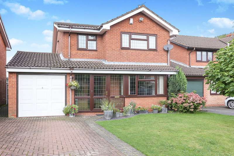 4 Bedrooms Detached House for sale in Hoylake Road, Perton, Wolverhampton, WV6