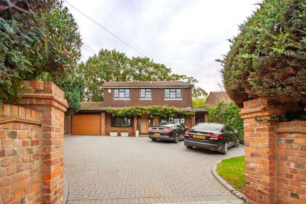4 Bedrooms Detached House for sale in Forest Road, Binfield, Bracknell