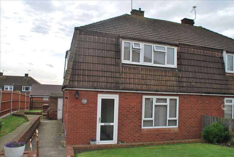 3 Bedrooms Semi Detached House for sale in Robson Drive, HOO ST WERBURGH, ROCHESTER