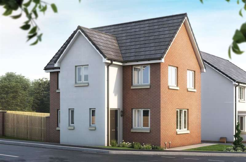 3 Bedrooms Semi Detached House for sale in The Fyvie, Ravenscraig, The Castings, Meadowhead Road, Ravenscraig, Wishaw