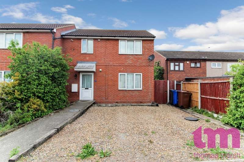 3 Bedrooms End Of Terrace House for sale in Portsea Road, Tilbury