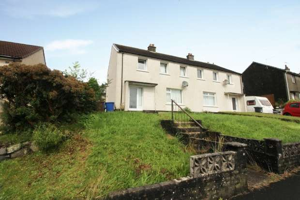 3 Bedrooms Semi Detached House for sale in Calderpark Avenue, Lochwinnoch, Renfrewshire, PA12 4AY