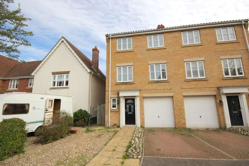 4 Bedrooms Semi Detached House for sale in Beaufort Close, Norwich, NR6