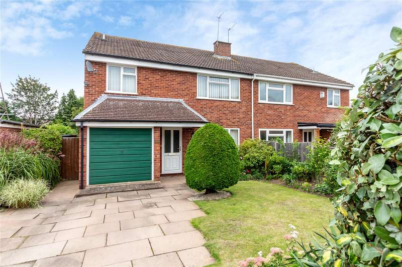 4 Bedrooms Semi Detached House for sale in Himbleton Road, Worcester, Worcestershire WR2