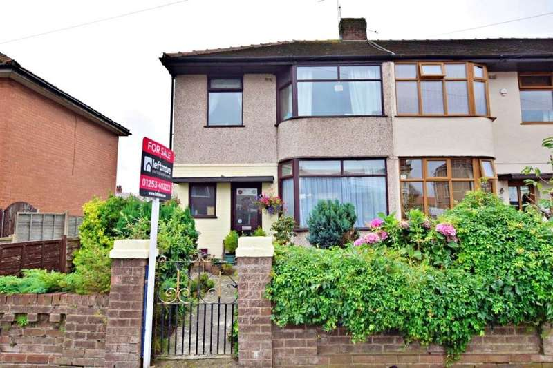 3 Bedrooms End Of Terrace House for sale in Faringdon Avenue, Blackpool