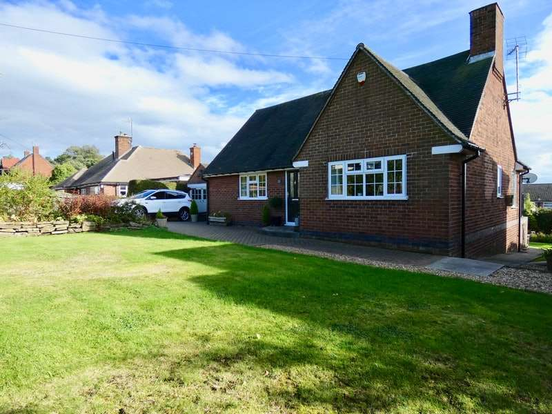 2 Bedrooms Bungalow for sale in Central Drive, Wingerworth, Chesterfield, Derbyshire, S42