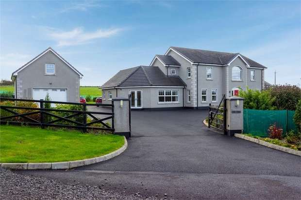 4 Bedrooms Detached House for sale in Gracehill Road, Armoy, Ballymoney, County Antrim