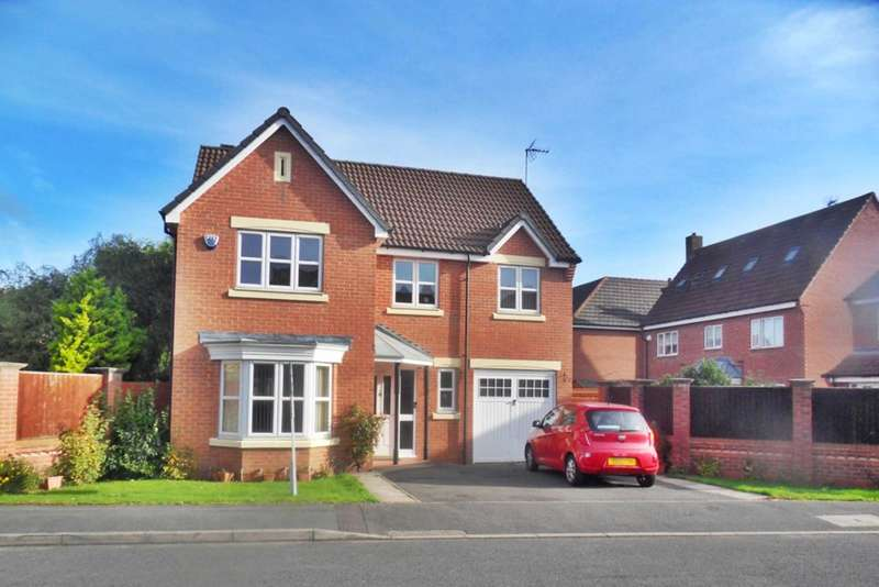 4 Bedrooms Detached House for sale in Nettleton Close, Heatherton