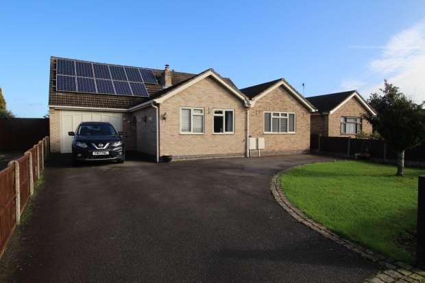 5 Bedrooms Detached Bungalow for sale in Byron Crescent, Swadlincote, Derbyshire, DE12 7EN