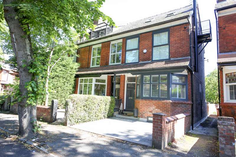 4 Bedrooms End Of Terrace House for sale in Bamford Road, Didsbury, Manchester, M20