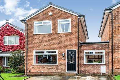 4 Bedrooms Link Detached House for sale in Corner Gate, Westhoughton, Bolton, Greater Manchester, BL5