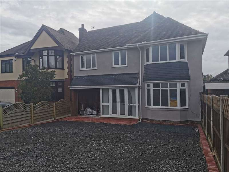 4 Bedrooms Detached House for sale in Hatherton Road, Cannock