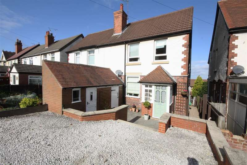 3 Bedrooms Semi Detached House for sale in Heage Road, Ripley