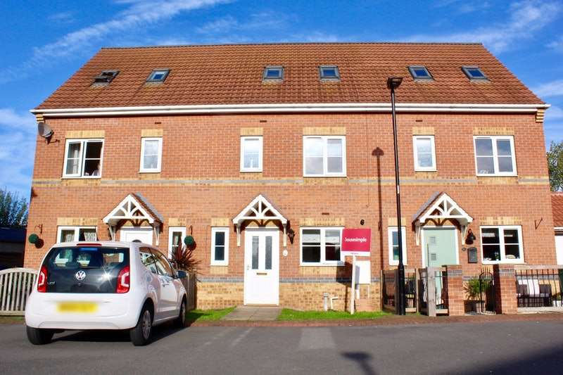 4 Bedrooms Terraced House for sale in Kestrel Drive, Mexborough, South Yorkshire, S64