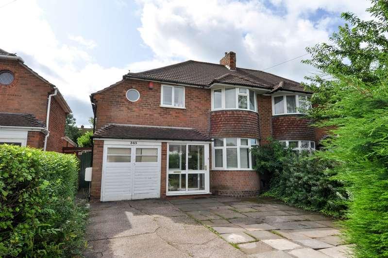 4 Bedrooms Semi Detached House for sale in Rednal Road, Kings Norton, Birmingham, B38