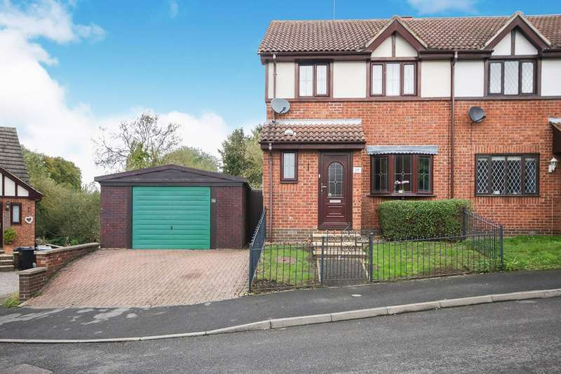 3 Bedrooms Semi Detached House for sale in Holly Close, Grantham, Lincolnshire, NG31
