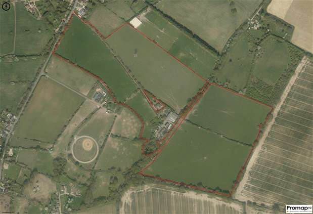 Land Commercial for sale in Touchen End , Maidenhead